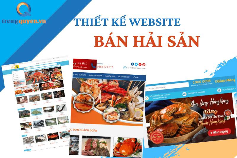 Tư vấn thiết kế website bán hải sản chuyên nghiệp