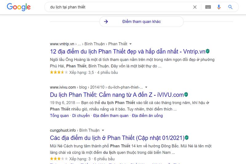 quảng cáo từ khóa lên google
